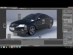 Create a car in blender with cycles - YouTube
