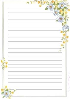 Free Printable Stationery, Printable Paper, Pocket Letter, Borders For Paper, Journal Paper, Handmade Journals, Stationery Paper, Note Paper, Writing Paper