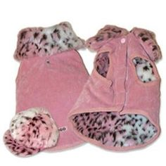 Luxury Pet Boutique.  Winter Dog Coat from the Pawrisian Bistro and Small Dog Clothes Boutique