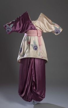 """""""Minaret"""" dress by Poiret, 1913 France, the FIT Museum    I want to make this. Wow."""