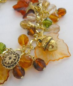 Autumn Acorn Bracelet