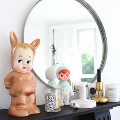 copper baby lapin lamp by lapin & me | notonthehighstreet.com