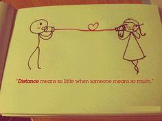 A website centered around long distance love. @Ally Penze