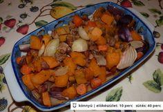 Őszi zöldséges pulyka 500 kcal