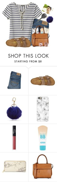 """Lunch w/ Shawn Mendes ❤️"" by kari-luvs-u-2 ❤ liked on Polyvore featuring L.L.Bean, Abercrombie & Fitch, Birkenstock, New Directions, Cherokee, Casetify, NARS Cosmetics, Maybelline, FOSSIL and Barbara Bui"