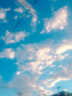 summer sky 여름 하늘