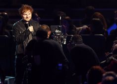 "Ed Sheeran announces Best Pop Duo/Group nominees on ""The GRAMMY Nominations Live!! — Countdown To Music's Biggest Night"" on Dec. 6 in Los Angeles"