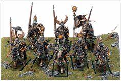 U.S.A. 2004 Baltimore - Warhammer Regiment - Demon Winner, the unofficial Golden Demon website