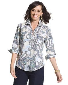 Effortless Paisley Beatrice Shirt