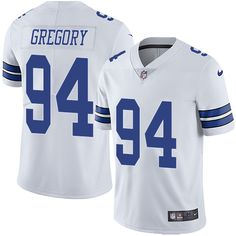 Nike Cowboys #94 Randy Gregory White Men's Stitched NFL Vapor Untouchable Limited Jersey