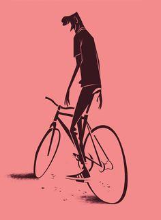 Quand Thorsten Hasenkamm dessine des vélos
