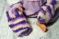 Easy Baby Thumbless Mitts - Free Original Patterns - Crochetville