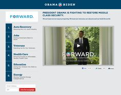 Obama USAToday.com banner ad landing page