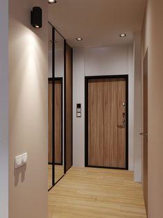 modern interior design by shubochkini architects Bedroom Bed Design, Bedroom Decor, Modern Interior Design, New Homes, Stone, Wood, Architects, Furniture, Behance