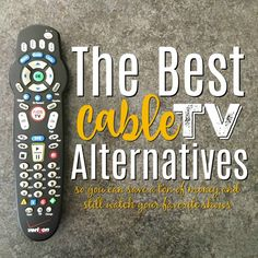 Want to watch TV without cable? These alternatives to cable TV are the best places to start if you want to cut your cable bill, but still watch your favorite shows! How To Clean Computer, Watch Tv Without Cable, Cable Tv Alternatives, Tv Hacks, My Life My Way, Tv Options, Apple Tv, Martini