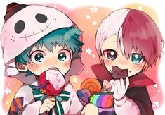 My Hero Academia Shouto, My Hero Academia Episodes, Hero Academia Characters, Anime Halloween, Cute Anime Boy, Anime Guys, Animes Wallpapers, Cute Wallpapers, Dibujos Anime Chibi