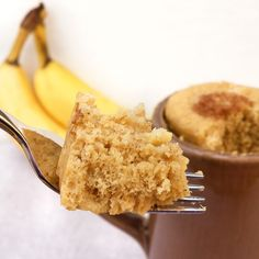 Vittles and Bits: Mug Banana Bread - maybe try without yolk?  or white?