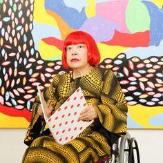 私の生涯における最大の感激草間彌生美術館が10月1日東京にオープン