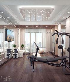 kuhles deckengestaltung wohnzimmer modern website pic und ceafadbadcb home gym equipment fitness gym