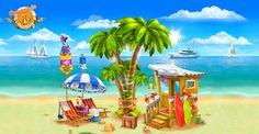 Beach by Bahryi.deviantart.com on @deviantART