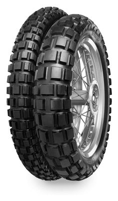 The Conti Twin Duro TKC 80 Dual Sport are the OE replacement tires for BMWF650 GS, BMWR850/1100/1150/1200GS Adventure, KTM 690 Enduro, KTM 990 Adventure, a...