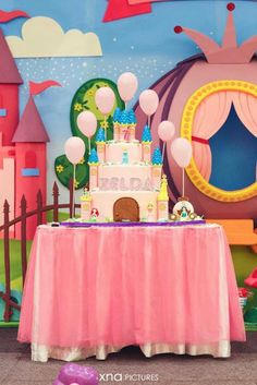 """Party Inspirations: EVER AFTER"""" Princess ZELDA 7th Birthday Party by Fairy Floss Party"""