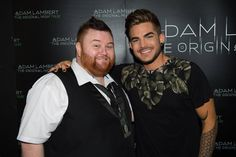 01/25/16plucka_1984 I finally #met #adamlambert as I've been wanting to meet him since #AmericanIdol I seen him #Perform in #Concert #Melbourne #Victoria #Australia and he was #Amazing the whole #Band were #Amazing