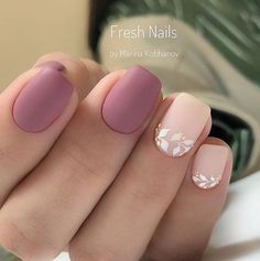 Nail art Christmas - the festive spirit on the nails. Over 70 creative ideas and tutorials - My Nails Stylish Nails, Trendy Nails, Cute Nails, My Nails, Light Pink Nails, Light Pink Nail Designs, Simple Acrylic Nails, Manicure E Pedicure, Pedicure Ideas