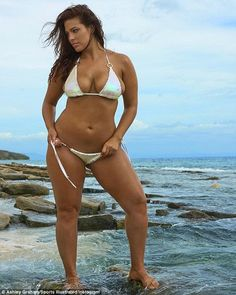 Reminiscing: Today Ashley Graham shared this image from her Fiji shoot for the 2017 Sports Illustrated Swimsuit Issue (by Yu Tsai)