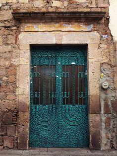 Mexico - gorgeous color door!
