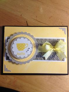 featuring Stampin' Up! products including the houndstooth embossing folder