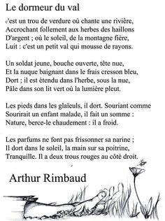 Victor hugo on pinterest - Poesie le dormeur du val arthur rimbaud ...