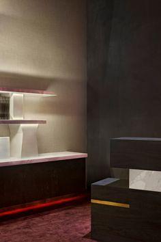 Un projet d'architecture d'intérieur par Charles Zana | AD magazine au PAD rénovation - aménagement - maisons - appartements