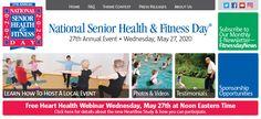 FitnessDay.com Family Fitness, Senior Fitness, Marketing Calendar, National Health, Local Events, Heart Health, Event Photos, Health Fitness, Photo And Video