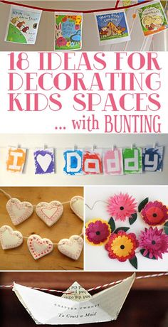 Kids Playroom Ideas: Decorate With Bunting | Childhood101