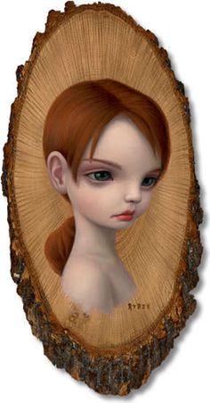 Eerie Little Fairies: Mark Ryden Paints His Surreal 'Wood Nymphs' Collection
