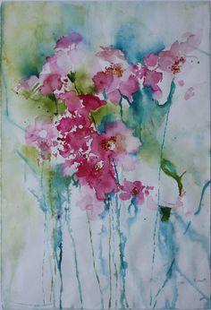 Watercolour - Lost Flowers donagh.mengel.com.au