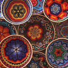 #huichol #art #ceremonial #gourds #guajes #bules #chaquiras #beads #peyote #mexican #design #diseño #arte #wixarika #tallerfranciscobautista #artewixarika #sanjosedelcabo #laplayita #loscabos #cabo #cabosanlucas #bajasur #mexico #paquimegallery
