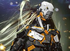 Metal Gear Rising Revengence Fanart [ Dark Raiden ] by SIXSIXSIX   Sci-Fi   3D   CGSociety