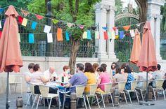 Reunión en el Exterior, el día de la Fiesta de la Lana