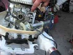Chrysler and West Bend outboard motor recoil repair