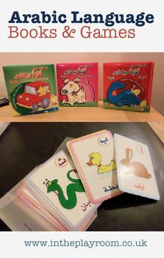 Arabic Books for Kids - A Selection of books, games and learning resources brought over from Kuwait, to help our kids to learn Arabic