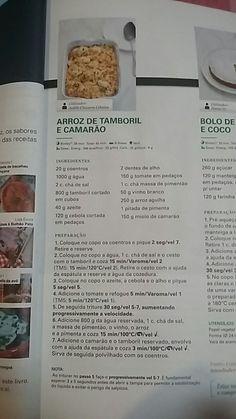 Arroz de tamboril e camarão - revista bimby 12/2016