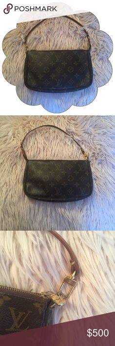 Louis Vuitton Pochette Accessoire 100% Authentic Louis Vuitton : Date Code SD1004 : In Excellent Condition : No stains Louis Vuitton Bags Clutches & Wristlets