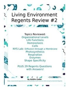Living environment regents review packets editable bundle living this living environment regents review packet is the second of 5 packets to help students prepare fandeluxe Image collections