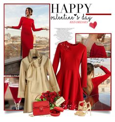 """""""Red Dress"""" by chris101287 ❤ liked on Polyvore featuring Bellini, Chicwish, Elie Saab, Dolce&Gabbana, GUESS, Charlotte Russe, Kenneth Jay Lane, women's clothing, women and female"""