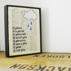 Art and French grammar!