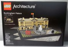 LEGO Architecture Buckingham Palace 21029 - Brand New In Factory Sealed Box