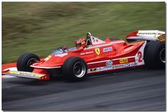 1980 Gilles Villeneuve , Ferrari 312T5