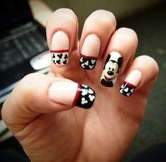 uñas de mickey mouse - Google Search